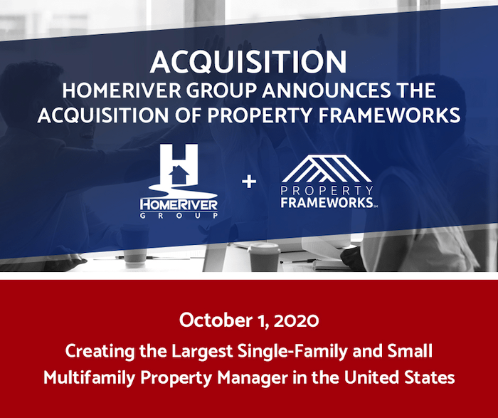 HomeRiver Group Bought HomeRiver Group